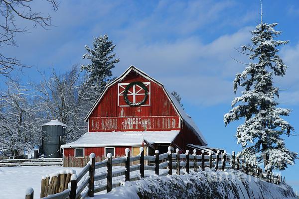 Randy Harris - Old Red Barn on McMillian