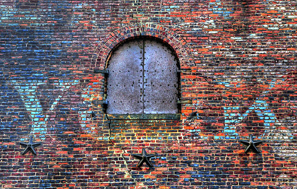 Old Warehouse Wall New York City Greeting Card For Sale By Dave Mills