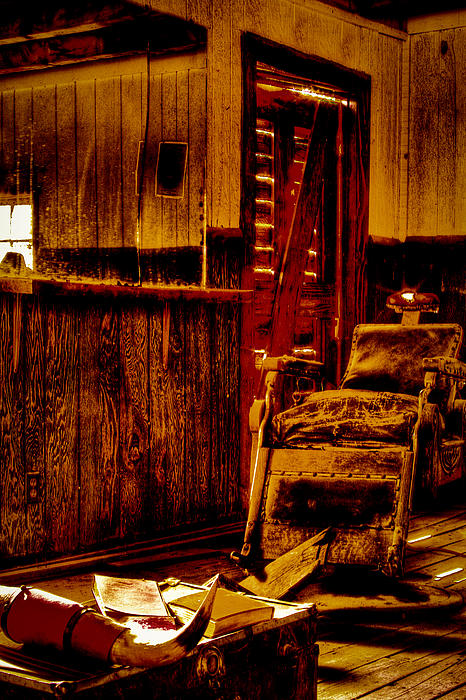 David Patterson - Old West Barber Shop at Bonnie Springs Ranch