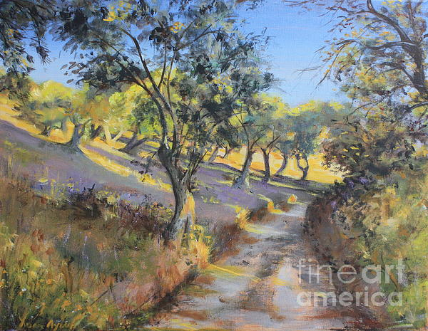 Yvonne Ayoub - Olive Groves in Autumn