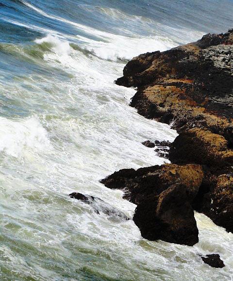 Tiffany Pruett - Oregon Coast Waves
