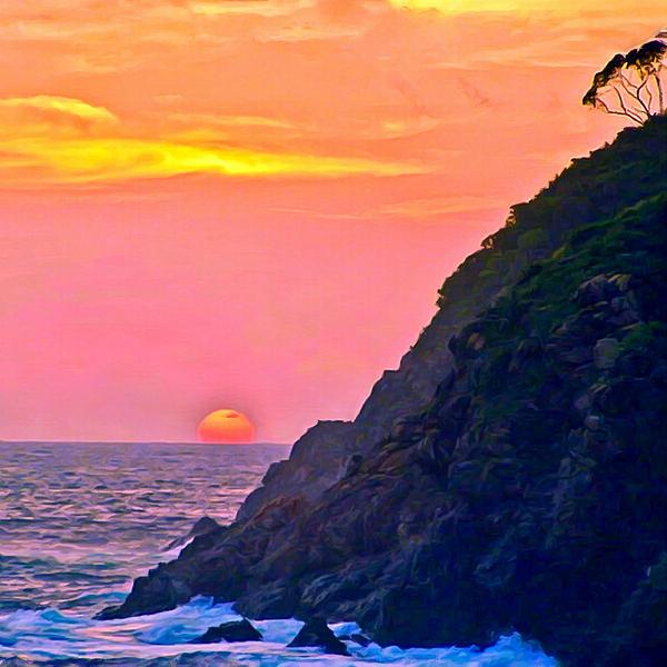 Bob and Nadine Johnston - Pacific Sunset