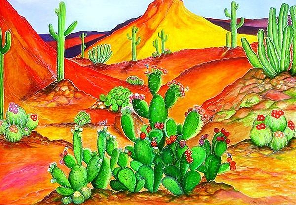 Esther Weinapple - Painted Desert