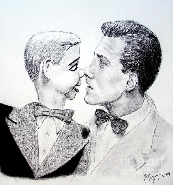 Jim Fitzpatrick - Paul Winchell and Ventriloquist Dummy Jerry Mahoney
