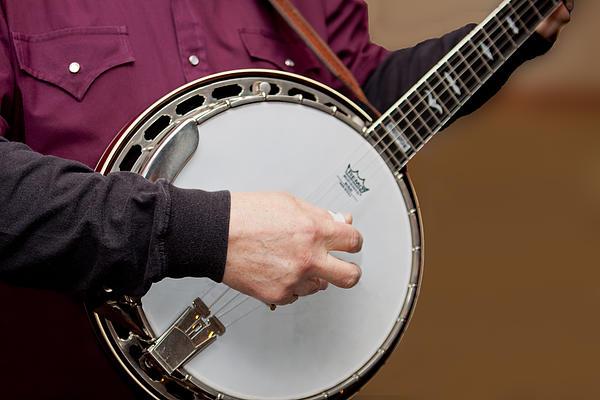 Jim Finch - Playing Banjo