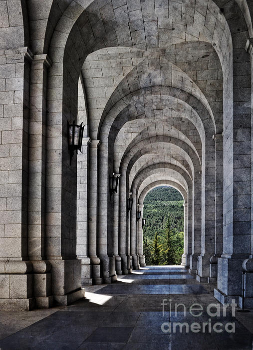 Mary Machare - Portico from the Valley of the Fallen