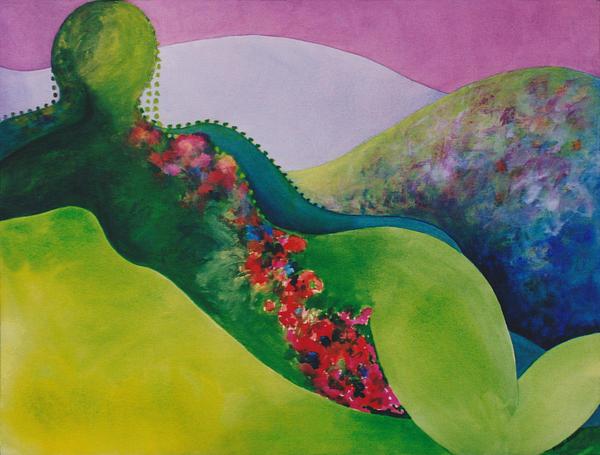Eve Riser Roberts - Portrait of the Artist as a Landscape 2