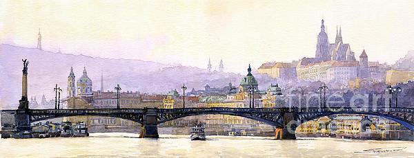 Yuriy  Shevchuk - Prague Panorama Cechuv Bridge variant