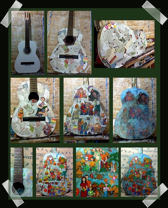 Madalena Lobao-Tello - Process of creating Symphony of colors