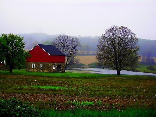 Marcia Lee Jones - Red Barn