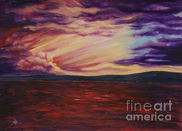 Shelly Leitheiser - Red Sea Clouds