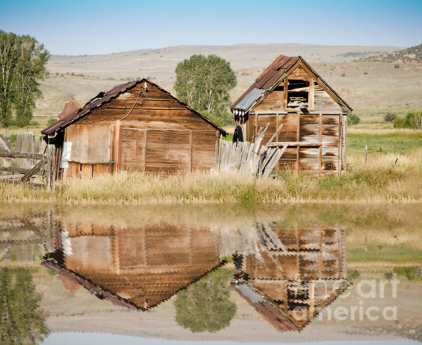 Donna Greene - Reflection of an Old Building