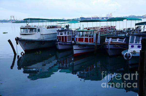 Jiss Joseph - Reflection Of Boats