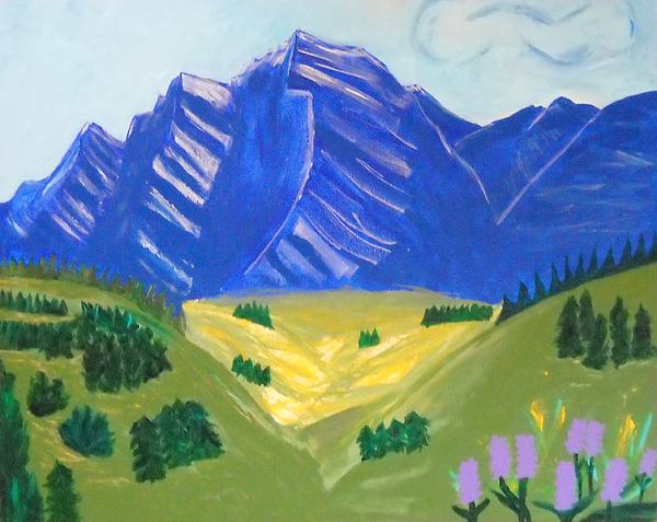 Kathleen Fitzpatrick - Rocky Mountains in Spring