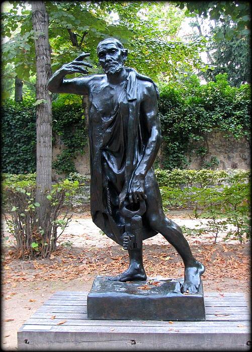 Carla Parris - Rodin statue