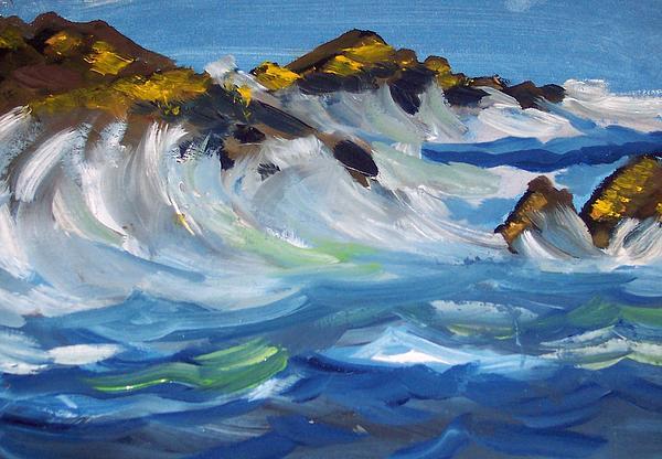 Iris Devadason - Rough Sea and Calm Skies