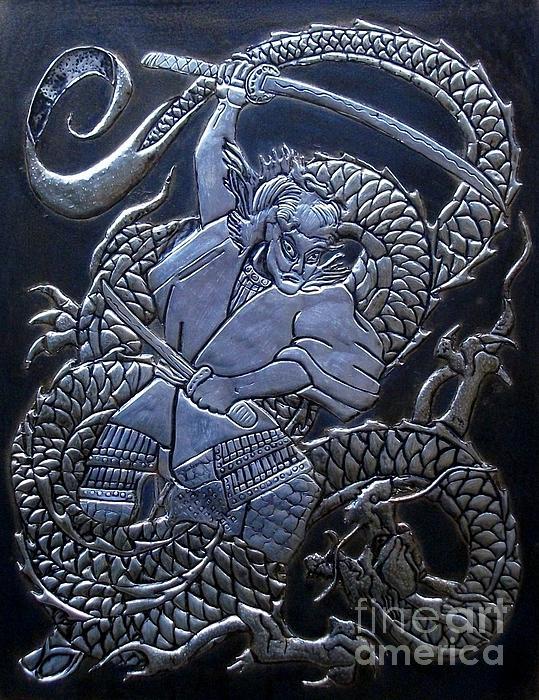 Cacaio Tavares - Samurai vs Dragon