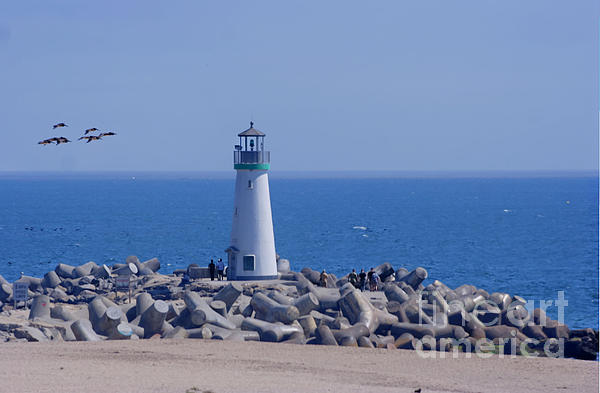 Morgan Wright - Santa Cruz Harbor Lighthouse
