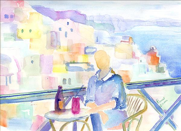 Marsden Burnell - Santorini Cafe