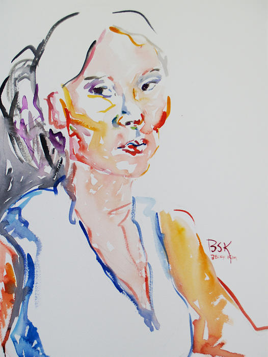 Becky Kim - Self Portrait 6