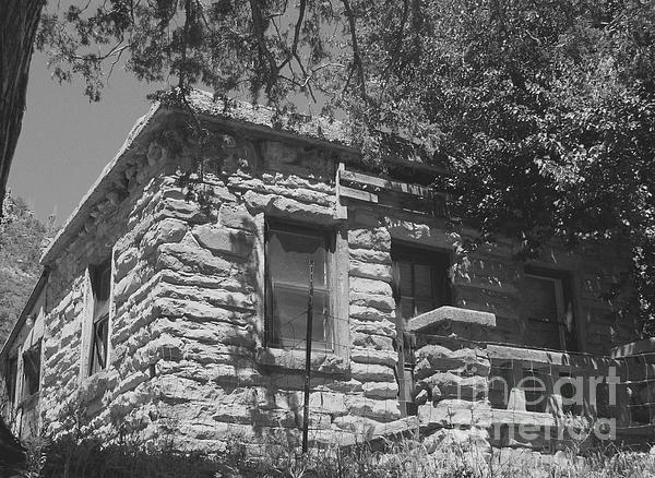 Charles Robinson - Slide Rock Cabin 1933