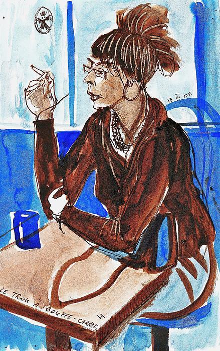 Ion vincent DAnu - Smoking Lady