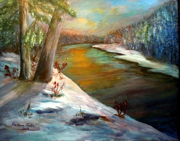 Barbara Pirkle - Snow at Sunrise