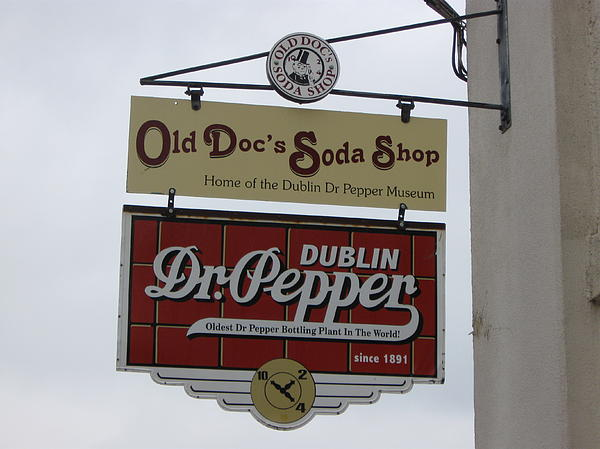 Dionne Foley - Soda shop sign