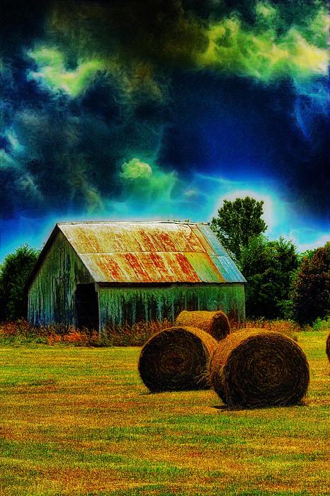 Bill Tiepelman - Spooky Hay Field