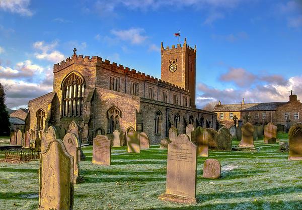 Trevor Kersley - St Oswalds Church  Askrigg