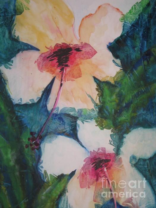 Chrisann Ellis - Stain Glass Flowers