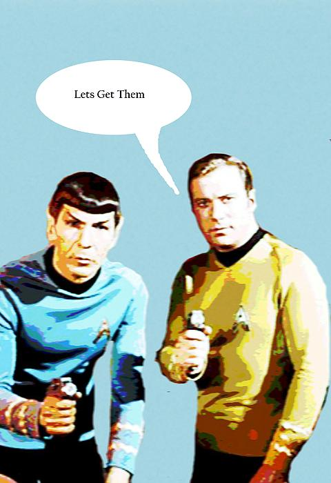 Star Trek 2 Greeting Card for Sale by Chandler Douglas