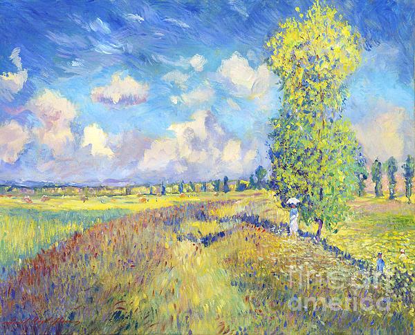 David Lloyd Glover - Summer Poppy Fields - sur les traces de Monet
