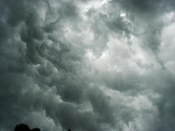 Marian Hebert - Summer Storm Clouds