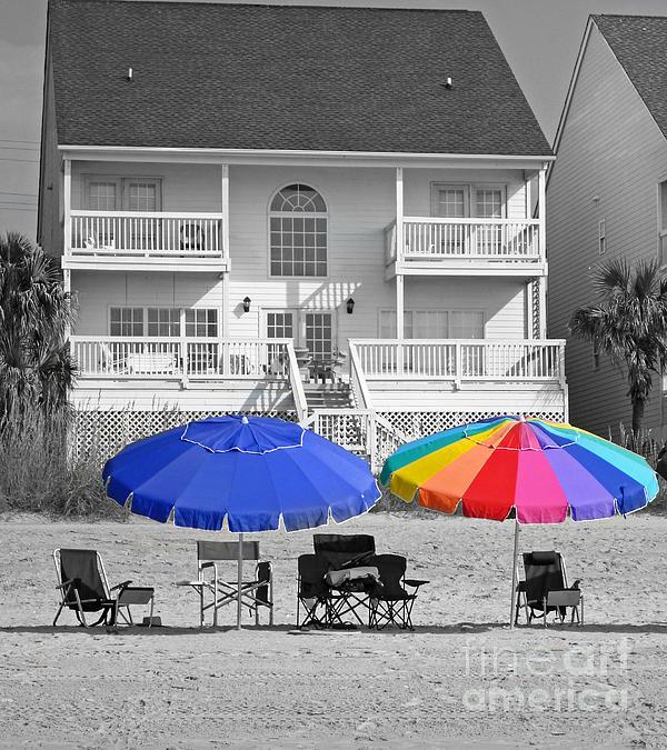 Bob and Nancy Kendrick - Summer Umbrellas