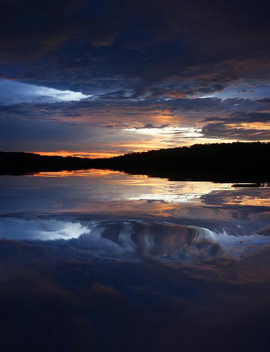Rick Friedle - Sundown At Lake