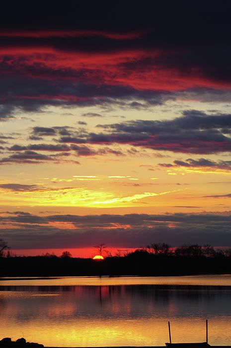 Rocksand Pickard - Sunrise at the Lake