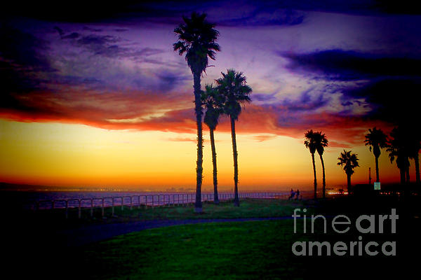 RJ Aguilar - Sunset at the bluffs