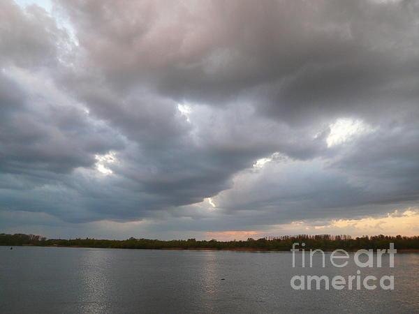 Alisa Tek - Sunset clouds