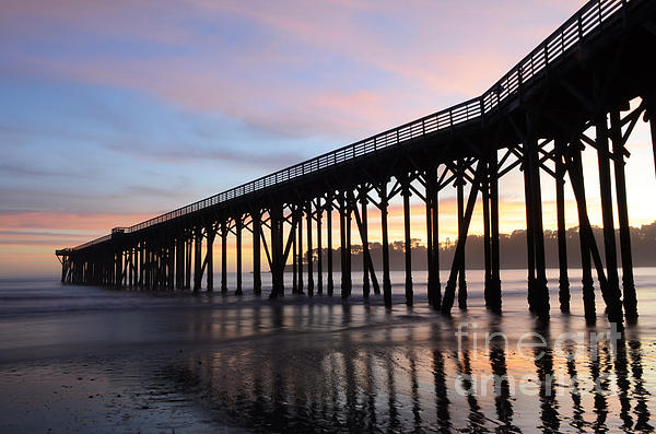 Bob Christopher - Sunset Pier San Simeon California 2