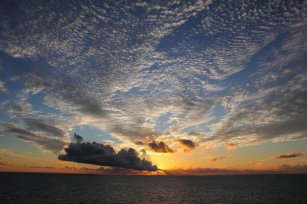 Deanna Wright - Sunset Through Clouds 2