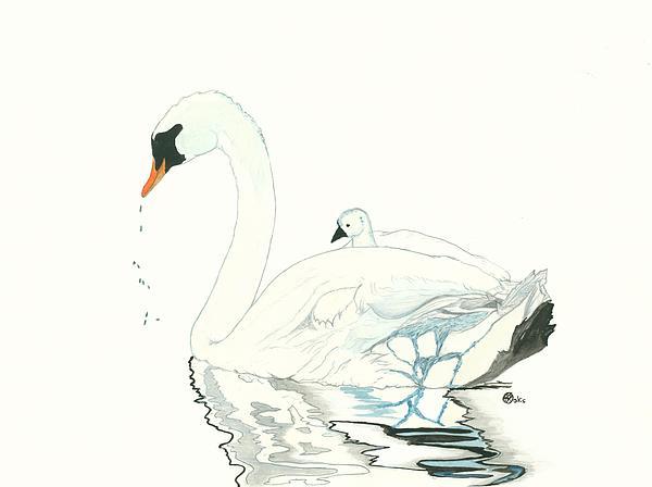 Kiana Gonzalez - Swan and Her Baby