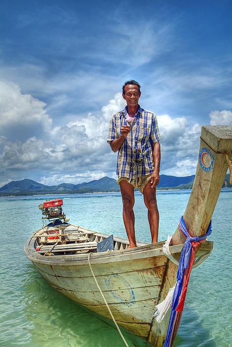 Ron Schwager - Thai Boat Man-Surin Island