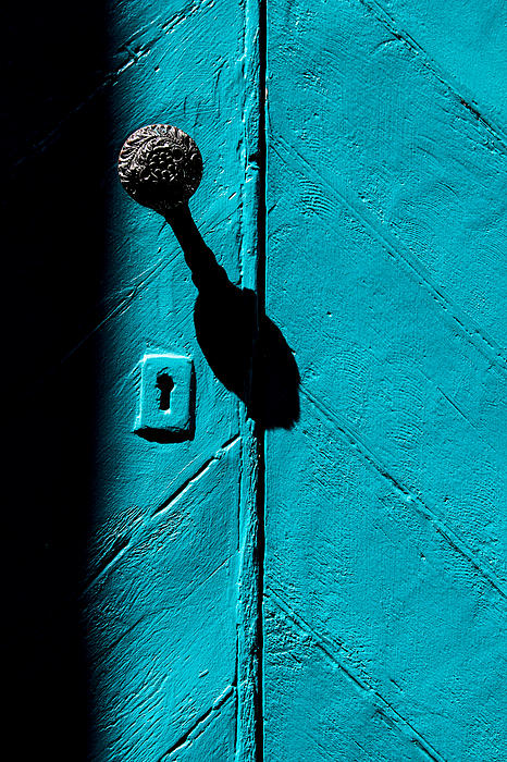 Vintage Pix - Blue door