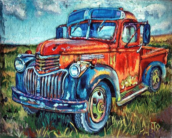 Lisa Tygier Diamond - The Chevy from the Levee
