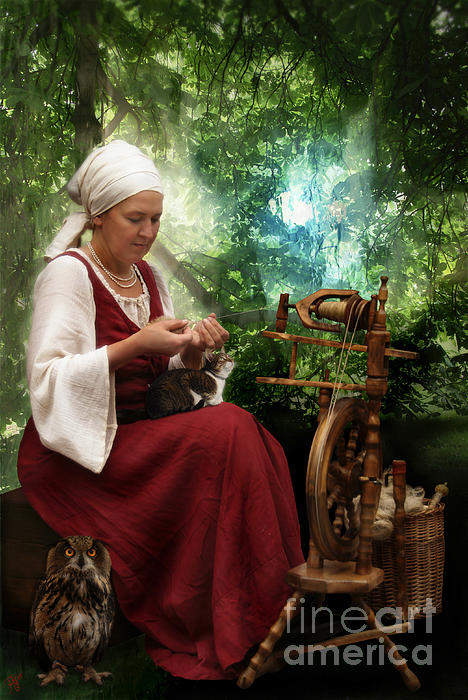 Rosa Cobos - The Mother Spinning Dreams