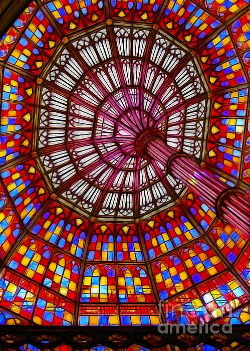 Judi Bagwell - The Stained Glass Ceiling