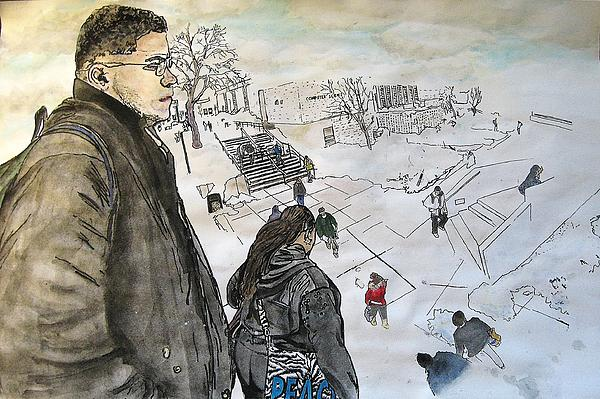 Alex  Rogolsky - The View From Macklin Library
