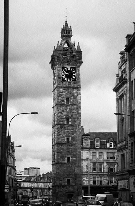 print iphone photos tolbooth steeple tower at glasgow cross glasgow scotland 12809