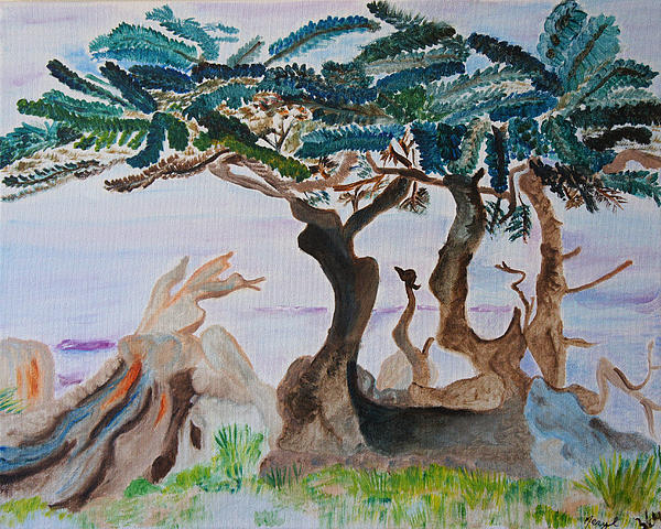 Meryl Goudey - Trees By The Sea